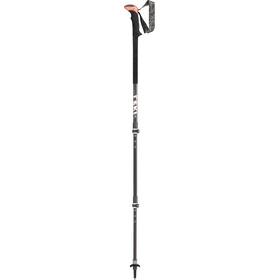 LEKI Sherpa XTG AS Bastones de Trekking, black/white/anthracite/red